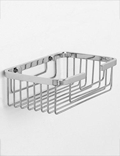 Badkamer rekken XIAOLIN- RVS Net Basket Sub - Netwerk plank Badkamer Hardware Hanger Badkamer Rechthoek Douche Planken