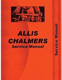 Service Manual - 170, 175, Allis Chalmers