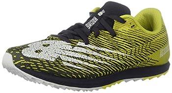 New Balance Women s Cross Country Seven V2 Spike Running Shoe Sulphur Yellow/Iodine Violet 8 M US