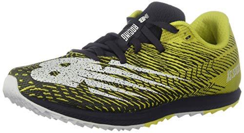 New Balance Women's Cross Country Seven V2 Spike Running Shoe, Sulphur Yellow/Iodine Violet, 8 M US
