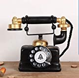 Large Creative Retro Decorative Phone Model...