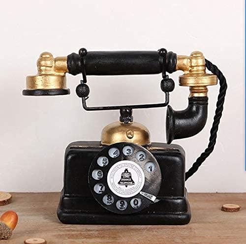 Large Creative Retro Decorative Phone Model Telephone Wall Decor,...