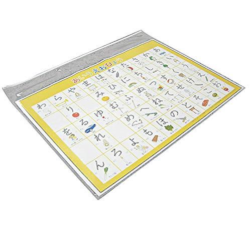 図面ケース A1型(20枚)両面透明クリア ファスナー付き ソフト 約0.052mm×900mm×650mm 子供さんの作品 学習 アイドル ポスター 収納 ケース