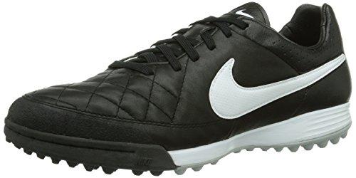 Nike Tiempo Legacy Tf 631517-010 Herren Fußballschuhe Training Schwarz (Black/White-Black) 40