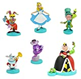 Ornaments Alice in Wonderland Figure Play Set of 6 - Celebrating The 70th Anniversary