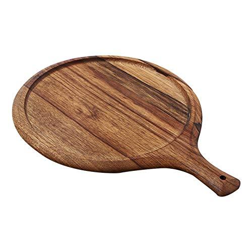 tidystore Pizzaschaufel, Pizzaschieber Holz, großes Pizzaschälchen und...