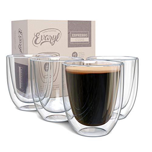 Evaryl Double Wall Espresso Cups