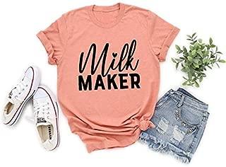 Breastfeeding Mom Shirt Milk Mom Shirt Milk Maker Shirt New Mom Gift New Mom Gift Breastfeeding Mom Gift Gift for Moms New Mom Tee