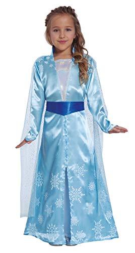 Fiestas Guirca kostuum prinses van de ijskoningin meisjes.