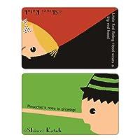 シール堂 Shinzi Katoh ICカード情報保護シール 赤ずきんとピノキオ 2枚セット ks-ic-10003