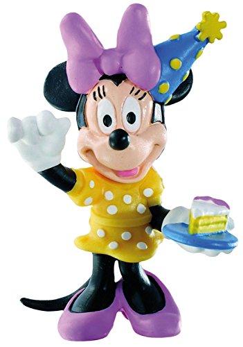 Bullyland 15339 - Spielfigur, Walt Disney Minnie Celebration, ca. 7 cm groß, liebevoll handbemalte Figur, PVC-frei, tolles Geschenk für Jungen und Mädchen zum fantasievollen Spielen
