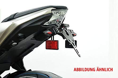 Motorize-ZIEGER holder set for reflectors on indicators, M6, Euro 4 license plate holder.
