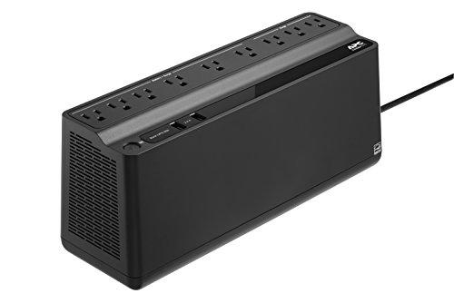 APC UPS BE850M2, 850VA UPS batería de reserva y protector de sobretensión, batería de reserva de alimentación ininterrumpida con (2) puertos de carga USB, serie APC Back-UPS