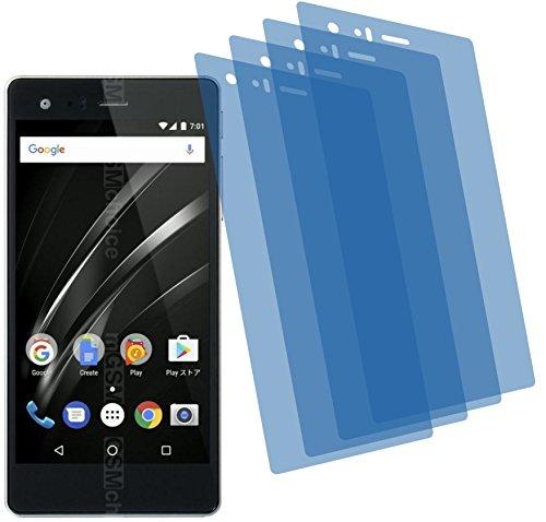 4ProTec I 4X Crystal Clear klar Schutzfolie für Vaio Phone A Premium Bildschirmschutzfolie Displayschutzfolie Schutzhülle Bildschirmschutz Bildschirmfolie Folie
