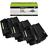 GREENCYCLE 3 Pack Black High-Yield Compatible Toner...