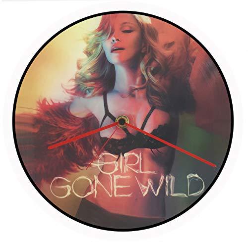 Reloj de vinilo Madonna, disco de vinilo 33 T, Vintage, Picture Disc,...
