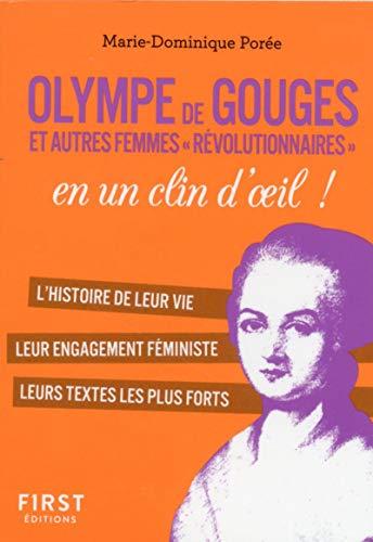 Petit Livre Olympe de Gouges et les femmes de la révolution en un clin d'oeil