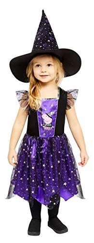 amscan Girls Peppa Pig Witch Halloween Fancy Dress Costume (3-4 Years)