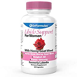 powerful DrFormulas Libido Support for Women with Horny Goat Weed Extract with Maca, Epimedium and…