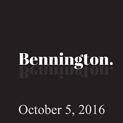 Bennington, October 5, 2016 cover art