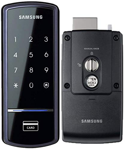 Samsung SHS-1321 Digital Door Lock, RIM Deadbolt, Touchscreen, Keyless