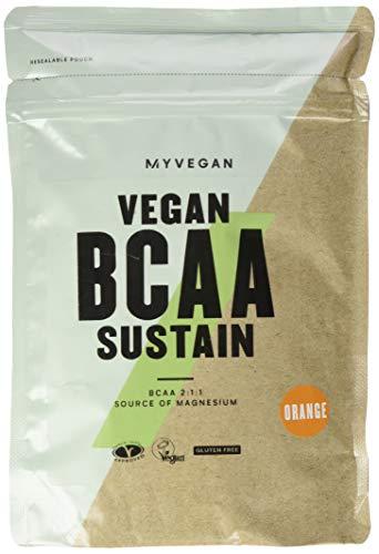 Myprotein Vegan BCAA Sustain Polvere, Arancia - 500 g
