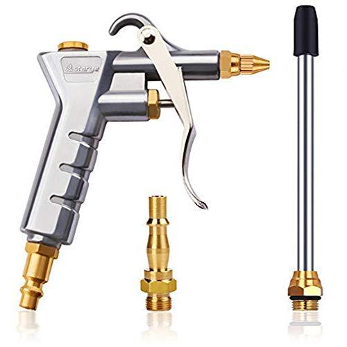 """Pistola ad aria compressa per attacco rapido 1/4"""" BSP Tedesco & Bristico, ad alta pressione, pistola di scaricostrumento di pulizia per processi di pulizia industriale"""