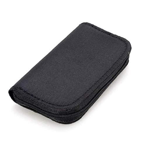 Odoukey 22 Slots Speicherkarten-Tasche wasserdicht SD-Kartenhalter-Tragetasche für Micro SDHC SDXC TF SIM-CF-Karte