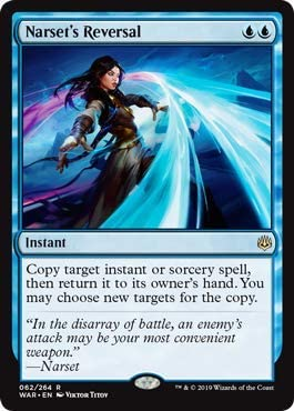 Amazon Com Magic The Gathering Narset S Reversal Foil War Of The Spark Everything Else