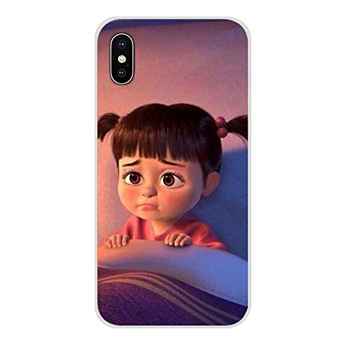 SSHELL Accesorios de la cáscara del teléfono Cubre Monstruos Inc Boo for Apple iPhone X XR XS 11Pro MAX 4S 5S 5C iPhone 6S 7 8 Plus iPod Touch 5 6 (Color : Images 9, Size : For iPhone SE)
