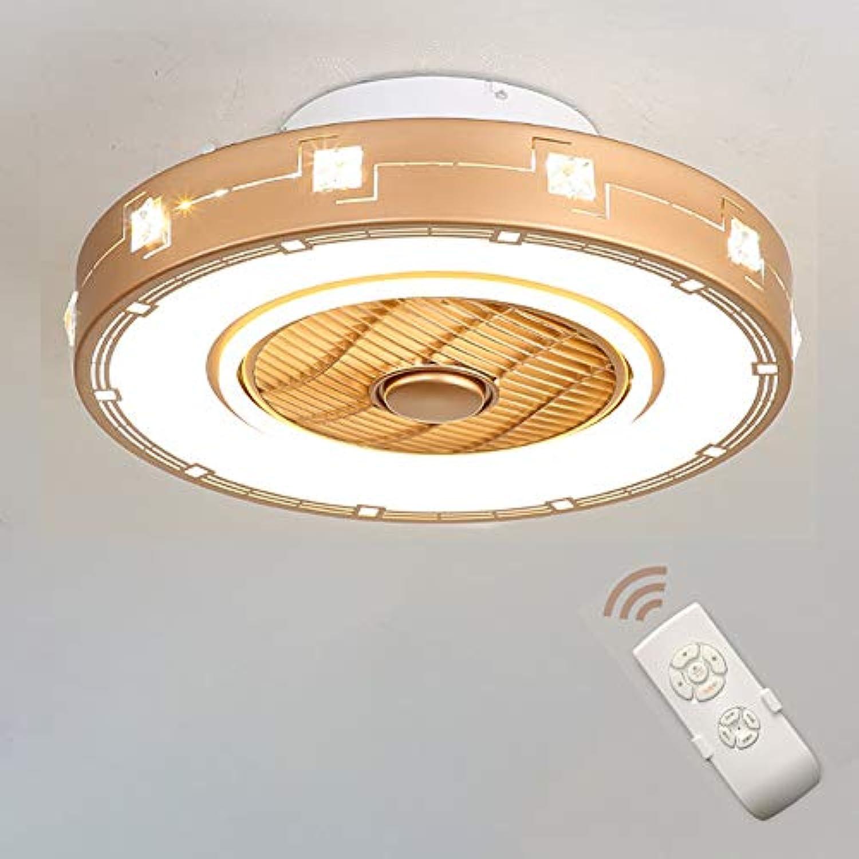 LED Fan Deckenleuchte Unsichtbarer Deckenventilator Moderne kreative Negatives Ion Deckenleuchte 36W Dimmbar mit Fernbedienung für Wohnzimmer Lampe Schlafzimmer Wohnzimmer Kinderzimmer Beleuchtung