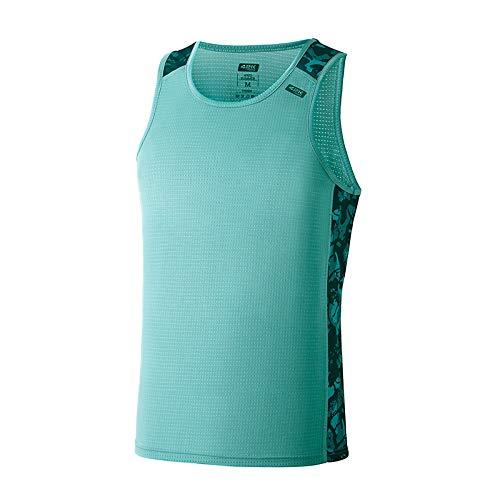 42K RUNNING - Camiseta técnica Tirantes 42k Ares Summer para Hombre Mint