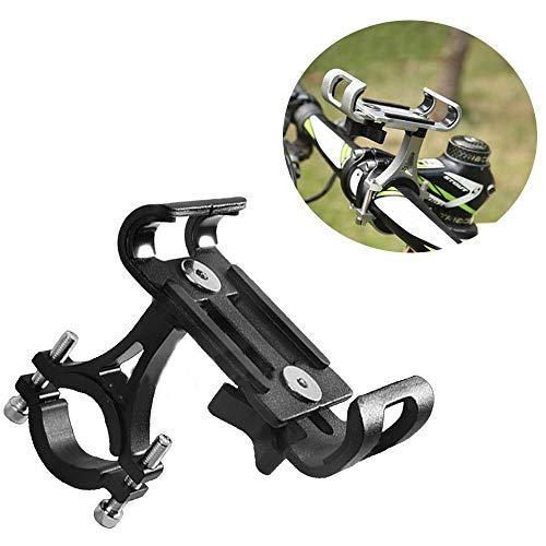 Fiets Telefoon Mount Sport Gadget Mounts Aluminium Fiets Beugel Outdoor Riding Mountainbike Mobiele Telefoon Beugel Vaste Navigatie Beugel Voor 3.5-6.0 Inch Mobiele Telefoons Fiets Accessoires