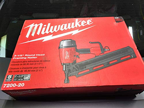 Milwaukee Pneumatic 3-1/2 in. 21 Degree Full Round Head Framing Nailer