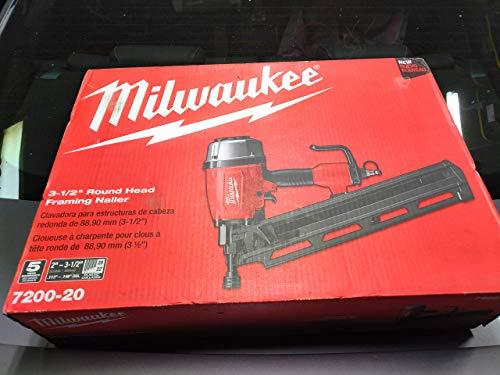 Milwaukee Pneumatic 3-1/2 in. 21 Degree Full Round...
