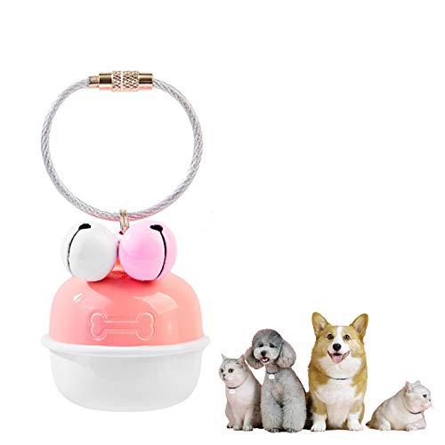 LLC-POWER GPS Pet Rastreador, Monitor de Actividad de Mascotas remota inalámbrica, Sistema...