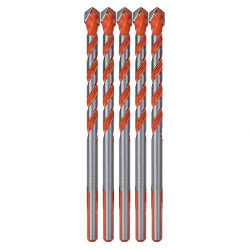 Brocas Para 5 uds 6mm broca multifuncional cabeza de aleación vástago triangular para madera pared agujero apertura herramienta de perforación