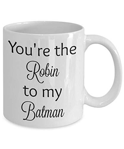 N\A Eres el Robin a mi Batman Taza De Café