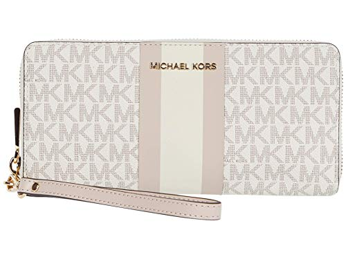MICHAEL Michael Kors Jet Set Travel Continental Vanilla/Soft Pink One Size