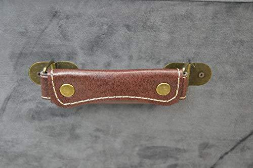 Livitat® Hocker Polsterhocker Suitcase Pouf Truhe Staufach Truhenbank Sitzbank Ottomane LV2084 - 8