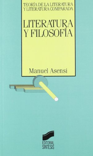 Literatura y filosofía: 14 (Teoría de la literatura y literatura comparada)
