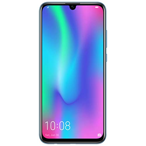 HONOR 10 Lite Dual SIM, 64 GB storage, 24 MP Front Camera with 6.21 Inch Full View Display, UK Official Device – Sky Blue