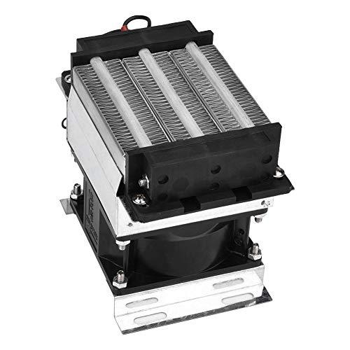 Calefacción de aire eléctrico de cerámica Elemento calefactor de aire aislado Calefacción rápida estándar 400 W 220 V para deshumidificador de aire para invernadero ambiente cálido