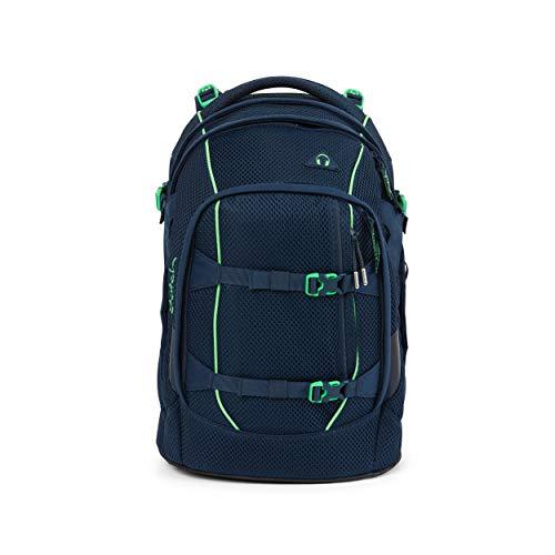 Satch pack Schulrucksack - ergonomisch, 30 Liter, Organisationstalent - Tokyo Meshy - Dunkelblau