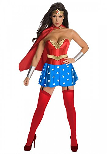 Sexy Superhero Kostüm Wonder Girl Deluxe Superhero Gr. 36/38 Woman