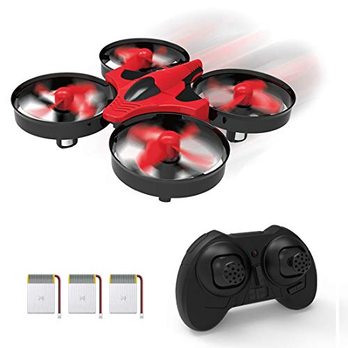 SKYKING F008 Mini Drones for Kids and Beginners,RC Nano Quadcopter Indoor Small Helicopter RTF Plane with Hovering/Headless Mode/3D Flip/3 Speed/One-Key Return