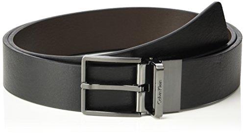 Calvin Klein Adam Rev Adj Belt Cintura, Blu (Black/Espresso), 678 (Taglia produttore:110) Uomo
