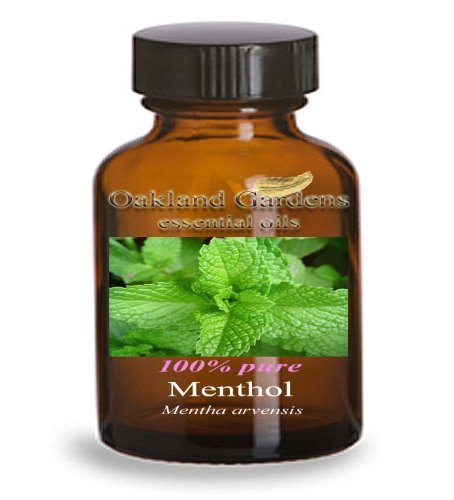 Liquid Menthol Essential Oil - 100% Pure Therapeutic Grade Essential Oil - Essential Oil by Oakland Gardens (30 ml - 1.0 fl oz Bottle)