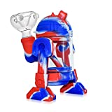 14mm Male Robot Design Silicone Holder (Blue&Red)