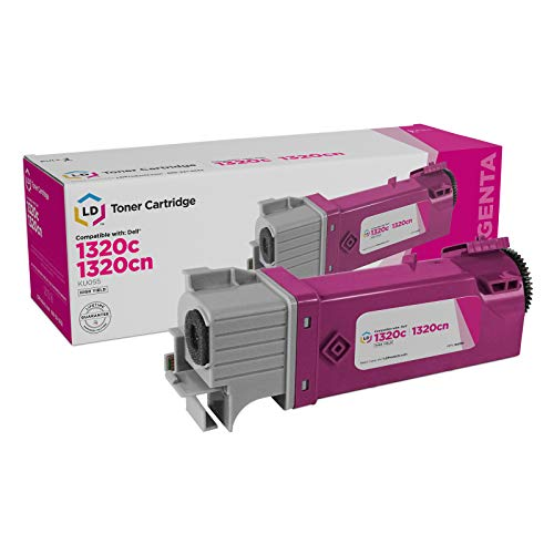 LD Compatible Toner to Replace Dell KU055 (310-9064) High Yield Magenta Toner Cartridge for Your Dell 1320c Color Laser Printer